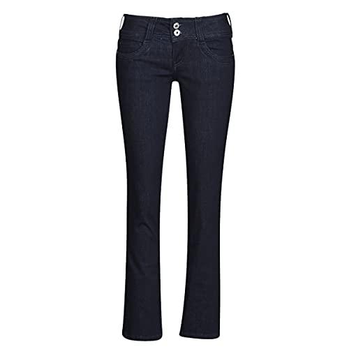 Pepe Jeans Gen, Vaqueros Rectos para Mujer, Azul (Denim M15), W26/L32