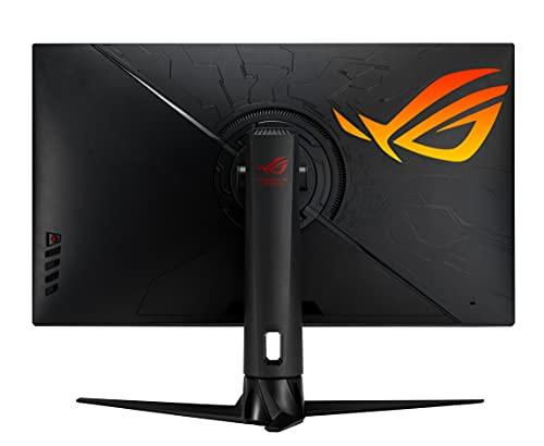ASUS ROG Swift PG329Q 81,28 cm (32 Zoll) Gaming Monitor (WQHD, Fast IPS, 175H, G-SYNC-Compatible, DisplayHDR 600, HDMI, DisplayPort, 1ms Reaktionszeit) schwarz