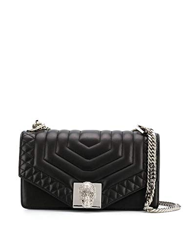 Luxury Fashion | Philipp Plein Dames S20AWBA1148PLE075N02 Zwart Leer Schoudertassen | Lente-zomer 20