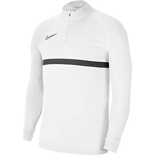 Nike, Dri-Fit Academy 21, Training Sweatshirt, Weiss / schwarz / schwarz / schwarz, XL