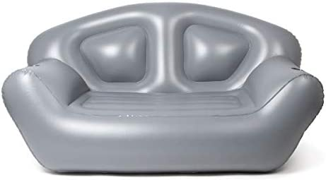 Milliard Inflatable Couch Air Sofa Perfect Lounger for Camping Beach and Home Grey product image