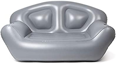 Milliard Inflatable Couch - Air Sofa – Perfect Lounger for Camping, Beach and Home (Grey)