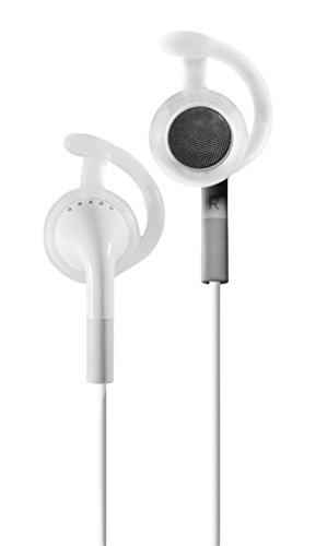 EarLocks para fones de ouvido redondos – Compatível com iPhone 3G/4S, Skullcandy, JVC e outros fones de ouvido circulares, translúcidos
