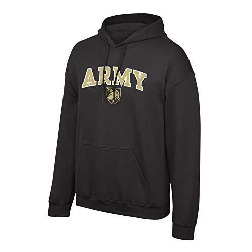 Top of the World Elite Fan Shop NCAA Men's Army Black Knights Hoodie Sweatshirt Team Color Arch Army Black Knights Black XX Large