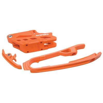 Acerbis Chain Guide and Slider Kit Orange for KTM 350 SX-F 2011-2015
