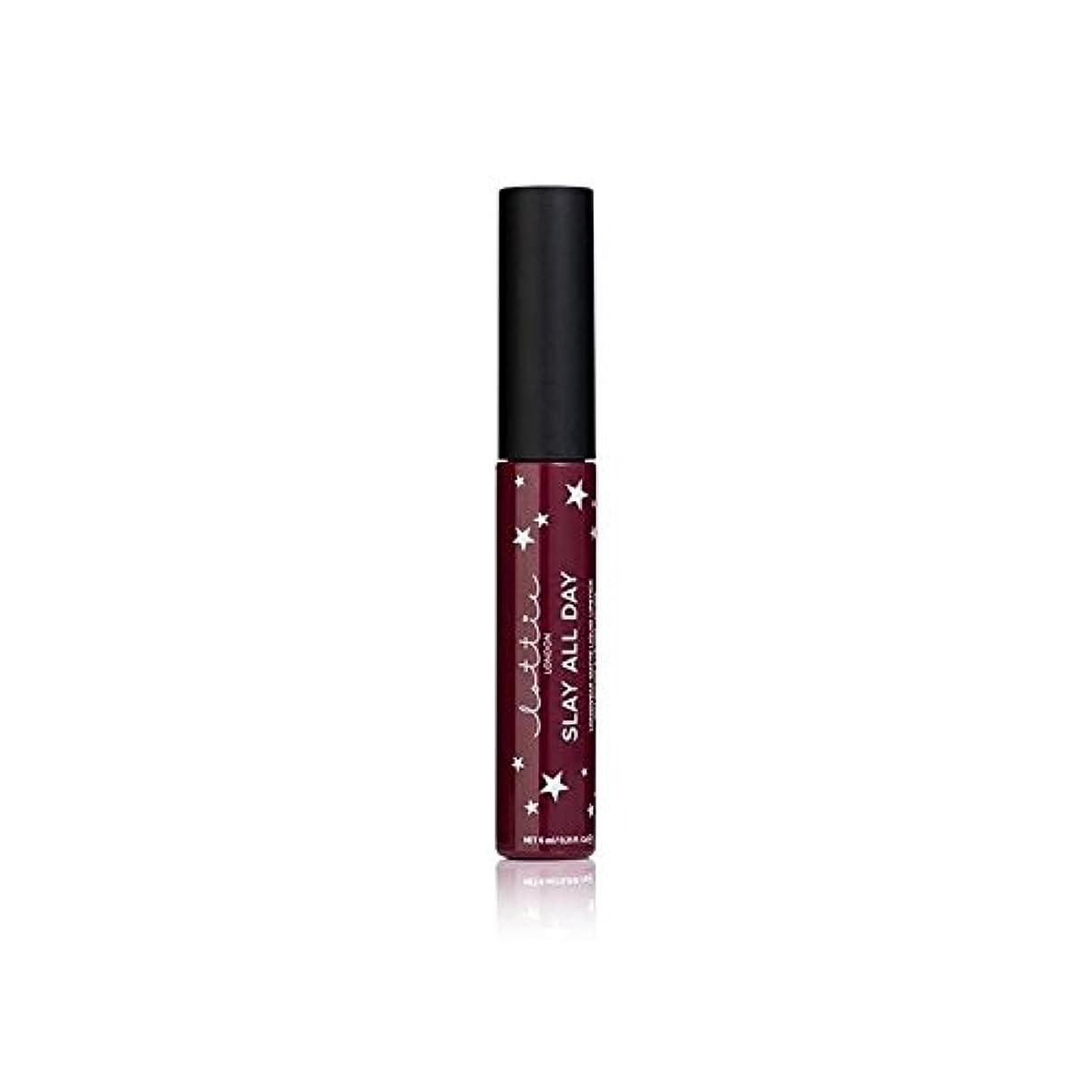 風刺周囲トチの実の木Lottie London Matte Liquid Lipstick - Vibes - ロンドンマット液状口紅を - バイブ [並行輸入品]