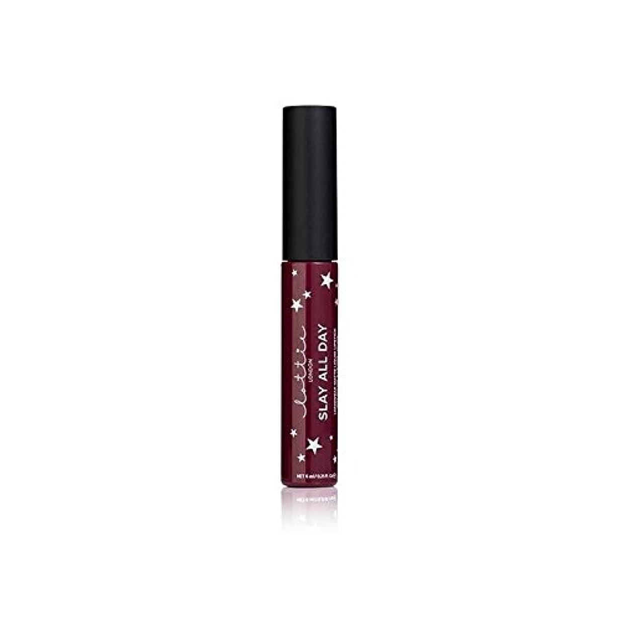 誕生日穿孔する戦艦ロンドンマット液状口紅を - バイブ x2 - Lottie London Matte Liquid Lipstick - Vibes (Pack of 2) [並行輸入品]