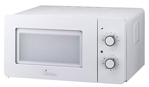 bkitchen Mini 150 Kompakt-Mikrowelle mit Auftau- und Diamond Cavity Funktion für gleichmäßige Erwärmung