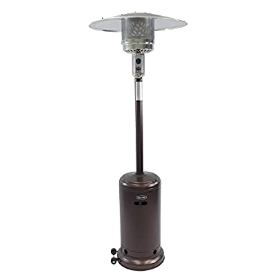 Dyna-Glo DGPH101BR 41000 BTU Deluxe Hammered Bronze Patio Heater