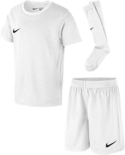 Nike Kinder Park Kit Trikotset, Weiß (White/Black), L (116-122)