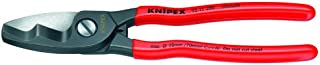 KNIPEX Tools - Cable Shears, Twin Cutting Edge (9511200)