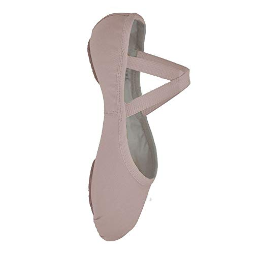 Girls Canvas Split-sole Ballet Shoes