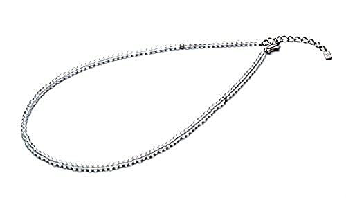 ファイテン(phiten) ネックレス チタン水晶ネックレス(3mm) 50cm(+5cmアジャスター)