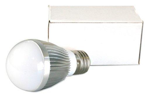 Connection N&C Retto E27 3W - Lámpara LED (Blanco cálido, Plata, Color Blanco)