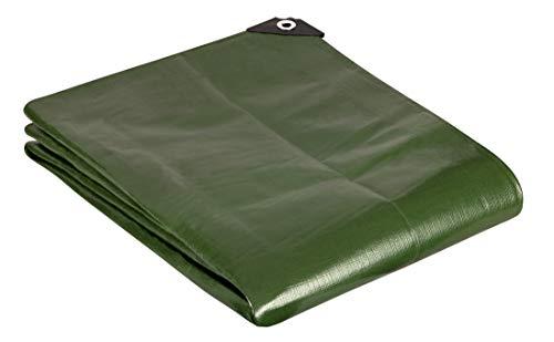 GardenMate 1x1m 200g/m2 Lona de protección prémium verde - Funda protectora - Malla geotextil