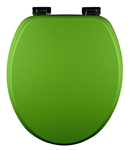 Eisl WC Sitz Spirit, Holzkern, mit Absenkautomatik, Grün, ED09560SC