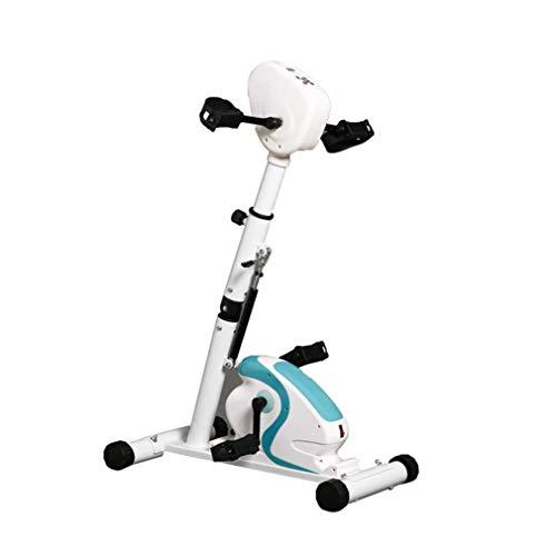 Pedal Trainer, Terapia física electrónica, rehabilitación, Bicicleta estática, ejercitador de Brazos y piernas, máquina para discapacitados, Trazo de 70 W, Modo de espasmo, FAYKFJ