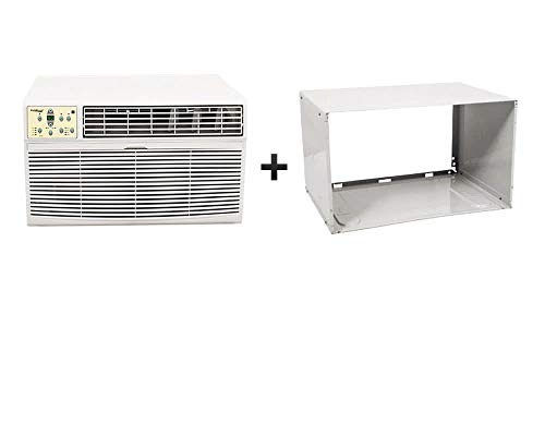 Koldfront WTC12001WSLV 12,000 BTU 208/230V Through the Wall Heat/Cool Air Conditioner with Sleeve
