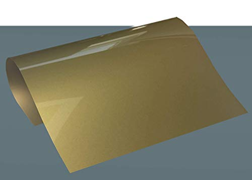 POLI-FLEX BLOCKOUT Soft Flexfolie - Formatware DIN A4, Farbe:4520-S GOLD-METALLIC