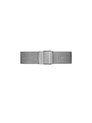 Daniel Wellington Petite Sterling, Correa Reloj Plateado, 14mm, Metálico, para Mujer