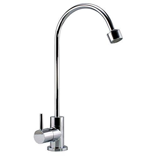 Sanquell GmbH Arosa P | hochwertige Küchenarmatur für Wasserfilter und Osmose-Anlagen, inklusive komfortablen Strahlregler