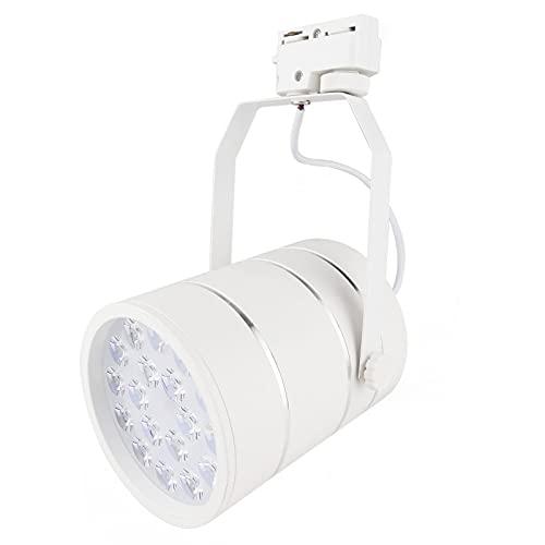 BeMatik - LED Spot rail 100x125mm 12W jour blanc froid et l'argent