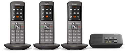 Gigaset CL660A (V 2.0) TRIO, analoges Telefon-Set inkl. 3 Mobilteilen und Anrufbeantworter