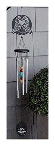 Sympathy Gift Wind Chime to Send for Funeral Or Memorial When Someone Loses A Loved One Angels to Comfort Us