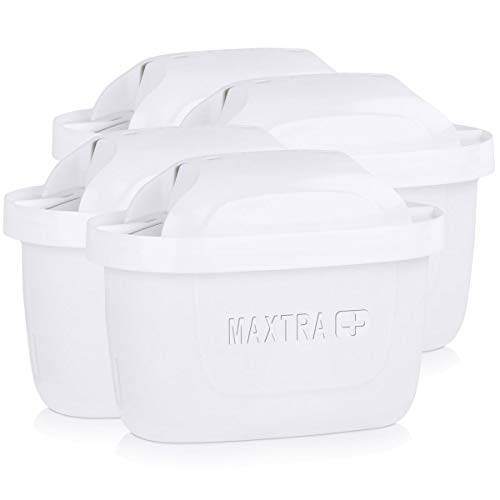 BRITA, Cartouche Filtrante pour Carafe, Maxtra - Pack 4
