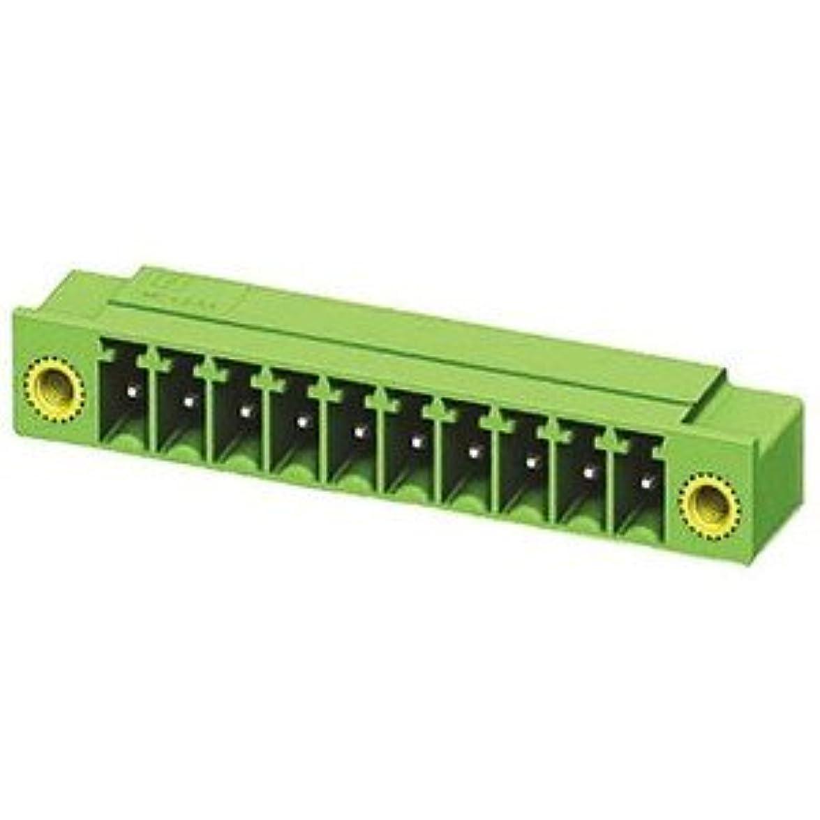 チートガム抗議Phoenix Contact 基板用端子台 3.5mmピッチ 1列 4極 緑 1817631
