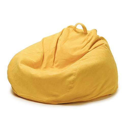SD Pouf Poire Bean Bag Chaise Grande Fauteuil Confortable avec Fermeture Éclair avec Poignée Convient pour Intérieur Et Extérieur 80 * 100 cm