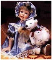 The Hamilton Collection Sandra Kuck Doll - Kristin 95021
