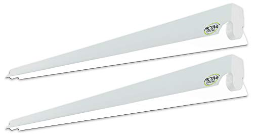 Active Grow T5 4FT LED Strip Light Fixture for Propagation and Microgreens - 22 Watts (54W Rep.) -...