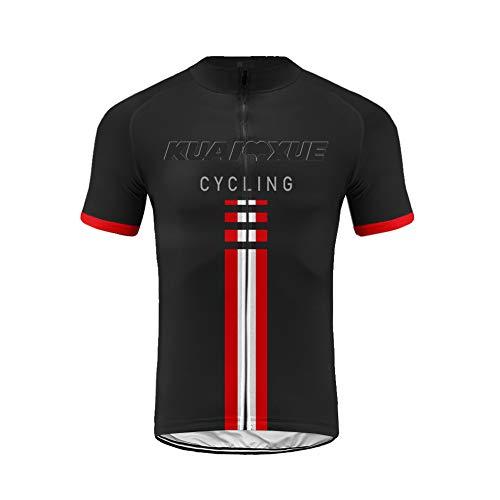 Uglyfrog Camisa de Ciclismo para Hombre de Manga Corta Respirable para Hombre Camisa de Ciclismo Tops de Ciclismo para Bicicleta DXML01