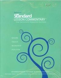 Paperback KJV Standard Lesson Commentary Book