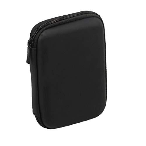Odoukey Mini USB 3.0 / USB 2.0 de 1 TB de Disco Duro móvil Externo 301558 Compacto de Disco Duro portátil Case-Negro