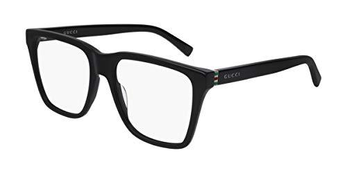 Gucci Brille (GG-0452-O 001) Acetate Kunststoff schwarz