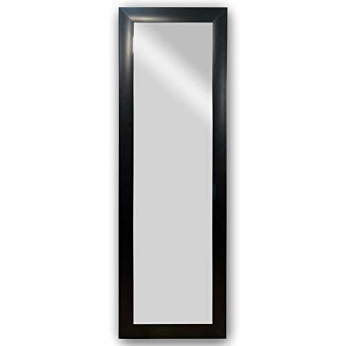 Espejo Cuerpo Entero, Moderno Y Elegante Marco Color Negro