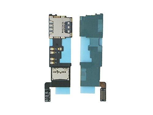 Samsung SM-N910F Galaxy Note 4 Simkartenleser + Micro SD Kartenleser, Sim + SD Card Reader Flex