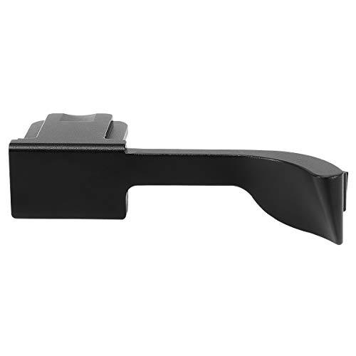 Haoge THB-QB 親指アップグリップ 黒 サムレスト ブラックカメラ サムグリップ 親指アップグリップ 対応 for ライカ Leica Q2