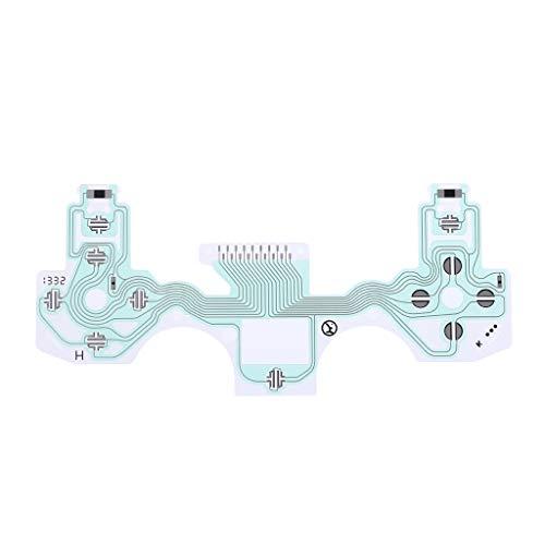 Lamdoo Circuito Botón de Cinta Cinta Cable Conductor Teclado Flex Pieza Reemplazo...