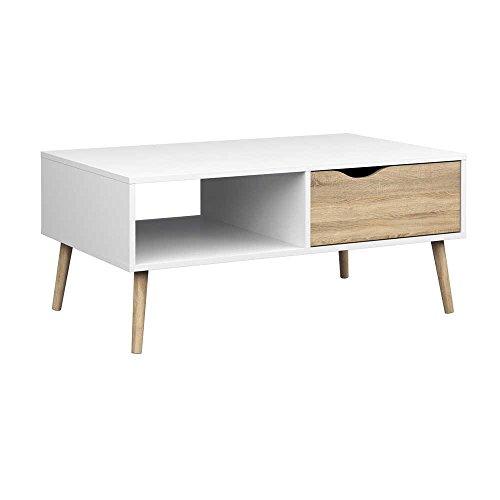 Mueble para TV Oslo 1 Cajón Blan