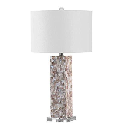 Lámpara de Mesa de Iluminación Decorativa Interior Lámpara de mesa, Concha de noche contador de la lámpara de decoración de interior de la lámpara Estudio compartida luz de la noche, el interruptor de