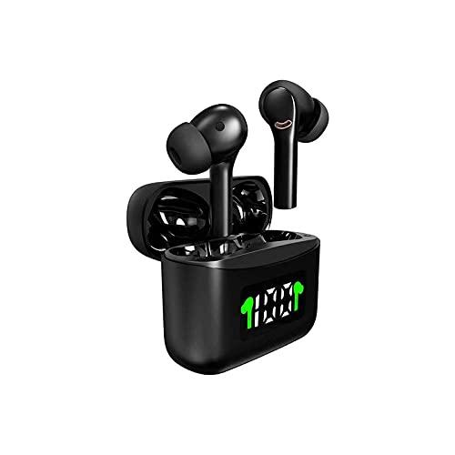 WGLL Auriculares con audífonos inalámbricos Verdaderos Bluetooth, batería, Dual Connect, Asistente de Voz nativa, Android y iOS Compatible
