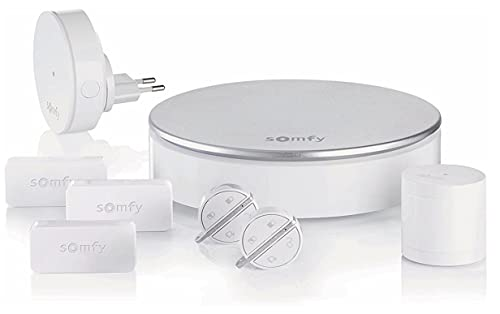 Somfy 2401497, Home Alarm, Wireless Connected Home Alarm System, Somfy Protect, App Compatibile con Android/iOS, Google Assistant e TaHoma tramite IFTT