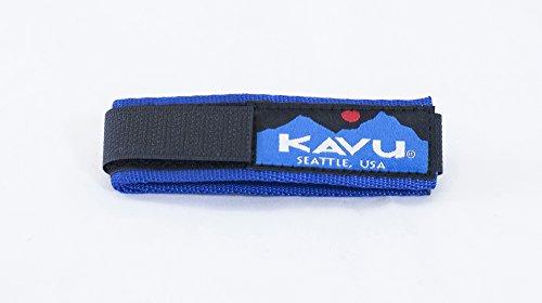 KAVU Watchband - Nylon Webbing Wrist Band for Any Watch Face - Blue-L