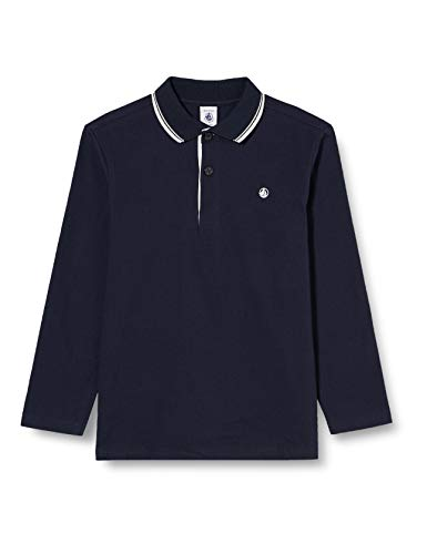 Petit Bateau Jungen 5586201 Polohemd, Smoking, 10 Jahre