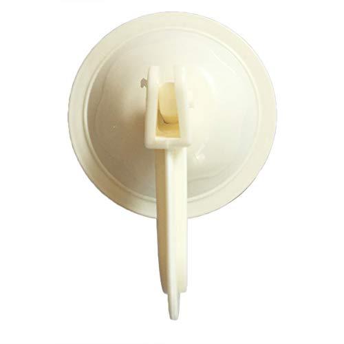 Nihlsfen Ganchos de Ventosa Ganchos para Toallas de Cocina Soporte de vacío de Pared extraíble para Azulejos Lisos y Espejo de Moda