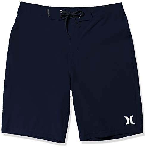 Hurley Men's Phantom One and Only Board Shorts, Obsidian, 29