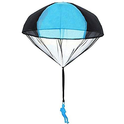 Kpcxdp Hand lanzando a los niños con paracaídas con pequeños paracaídas. El Paquete